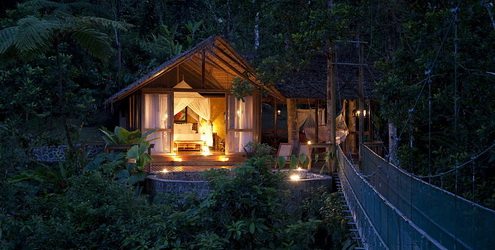 Свадьба в Pacuare Lodge, Коста-Рика